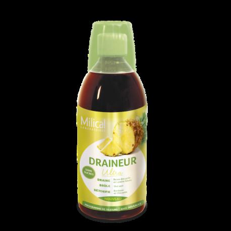 Milical Draineur Ultra sans sucres ananas 500ml