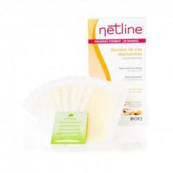 Netline cire dépilatoire corps 20 bandes