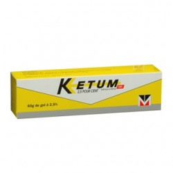 Ketum 2.5% Gel tube 60g