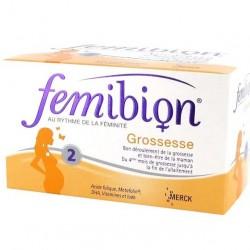 Femibion grossesse 2 30 comprimés + 30 capsules
