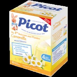 Picot Ma 1ère boisson aux Plantes Camomille, 10 sachets de 5g