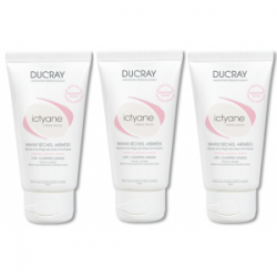 Ducray Ictyane crème mains TRIO 3x50ml