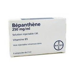 Bepanthene 250mg/ml, 6 ampoules
