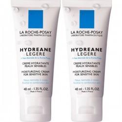 Hydreane Légère Crème Hydratante, 2x40ml