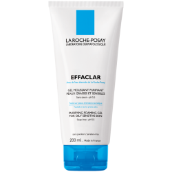 Effaclar gel moussant purifiant, 200ml