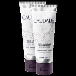 Caudalie Crème Gourmande Mains et Ongles, 2x75ml