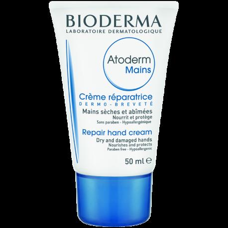 Bioderma Atoderm Crème mains réparatrice, 50ml