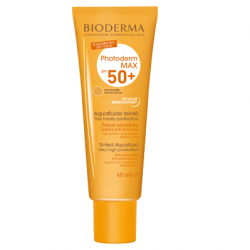Bioderma Photoderm Aquafluide teinté doré SPF50+, 40ml