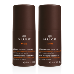 Nuxe Men Déodorant Protection 24h Roll'on duo 2x50ml