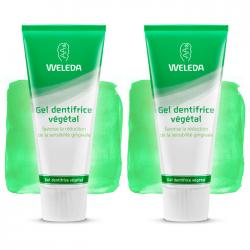 Weleda Gel dentifrice végétal duo 2x75ml
