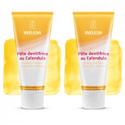 Weleda Pâte dentifrice au calendua goût anis duo 2x75ml