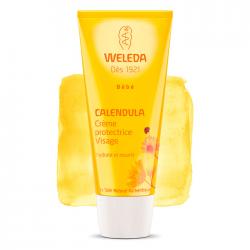 Weleda Bébé Crème protectrice visage au calendula 50ml