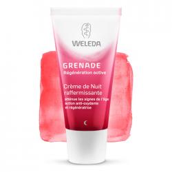 Weleda Grenade Crème de nuit raffermissante 30ml