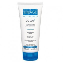 Uriage Cu Zn+ gel nettoyant anti-irritations 200ml