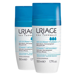Uriage Déodorant puissance 3 roll on 2x50ml