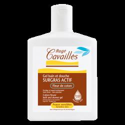 Rogé Cavaillès Surgras actif Gel bain douche fleur de coton300ml