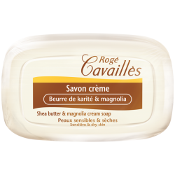 Rogé Cavaillès Savon crème Beurre de karité et magnolia 115g