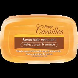 Rogé Cavaillès Savon huile veloutant Huile argan et amande 115g