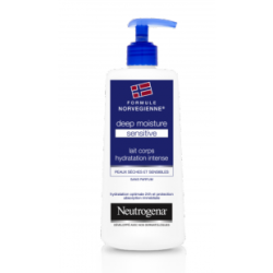 Neutrogena Deep Moisture Sensitive Lait corps hydratation 200ml