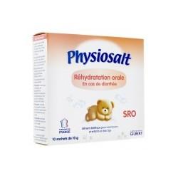 Physiosalt SRO Sels de Réhydratation Orale 10 sachets