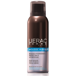 Homme Mousse à raser hydratante anti-irritations 150ml