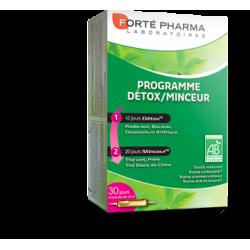 Forte Pharma Programme Detox-Minceur 30 ampoules