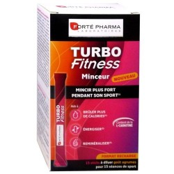 Forte Pharma Turbofitness Sticks à diluer 15 unités