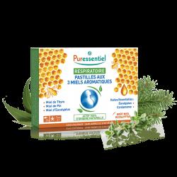 Puressentiel Respiratoire Pastilles aux 3 miels 24 unités