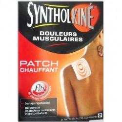 SyntholKiné Patch chauffant petit modèle 2 unités