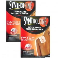 SyntholKiné Patch chauffant petit modèle duo 2x2 unités