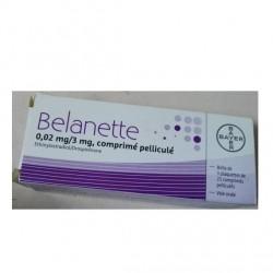 Belanette 0.02mg/3mg cpr 3x21