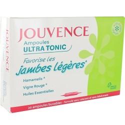 Jouvence Ampoules ultra tonic jambes légères 20x10ml