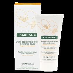 Klorane Crème dépilatoire apaisante 75ml