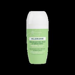 Klorane Déodorant bille anti-traces Althéa blanc 125ml