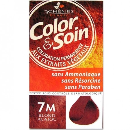 3 Chênes Color & Soin coloration blond acajou 7m