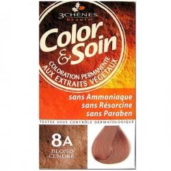 3 Chênes Color & Soin coloration blond cendré 8a