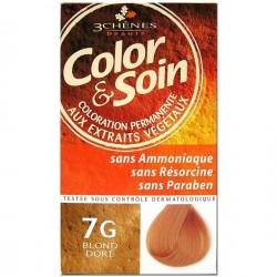 3 Chênes Color & Soin coloration blond doré 7g