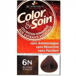 3 Chênes Color & Soin coloration blond foncé 6n