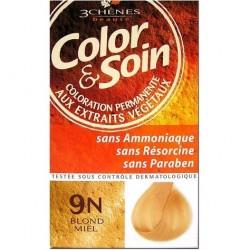 3 Chênes Color & Soin coloration blond miel 9n