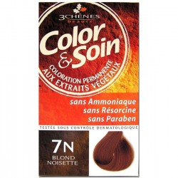 3 Chênes Color & Soin coloration blond noisette 7n