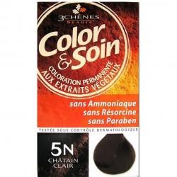 3 Chênes Color & Soin coloration châtain clair 5n