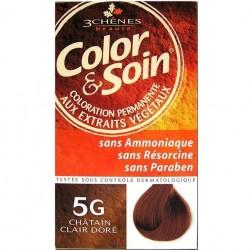 3 Chênes Color & Soin coloration châtain clair doré 5g