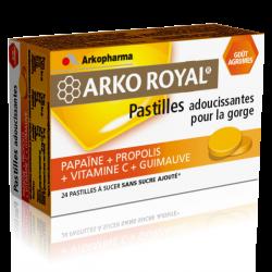 Arko Royal Pastilles Propolis gout agrumes 24 unités