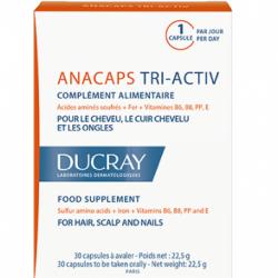 Ducray Anacaps tri activ 3x30 capsules