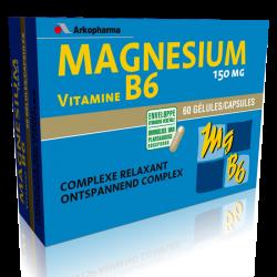Arkovital Magnésium et vitamine B6 60 gélules