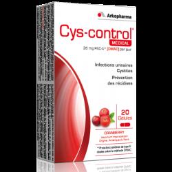 Cys-control Gélules 20 gélules
