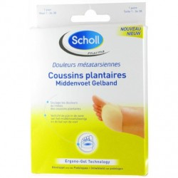 Scholl Coussins plantaires taille 36/38 1 paire