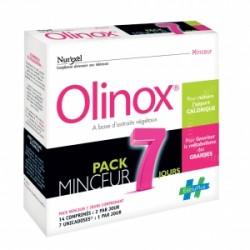 Olinox Nut'exel Pack minceur 7 jours 14 comprimés 7 unicadoses