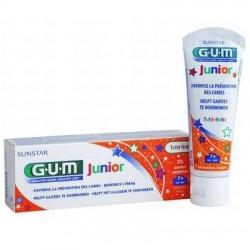 Gum Dentifrice Kids tutti-frutti enfant 7 à 12 ans 50ml
