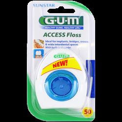 Gum Fil dentaire Access Floss 50 utilisations 1 unité